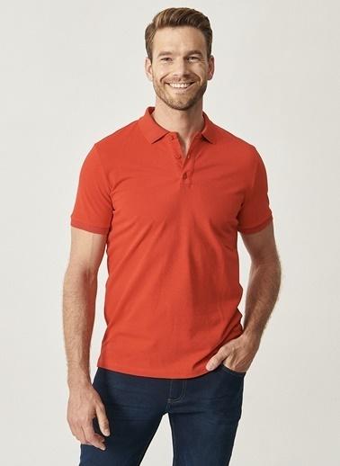 Altınyıldız Classics Altınyıldız Classic Nar Çiçeği T-Shirt Kırmızı